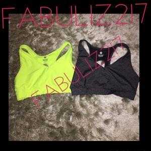 Workout sorts bra bundle medium